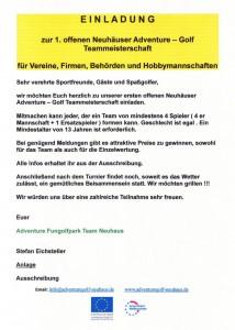 1th offene Neuhäuser Adventure-Golf Teammeisterschaf  b2