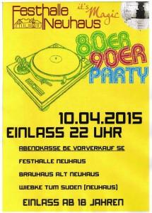 80er-90er PartyB