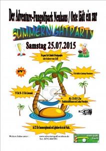 Summernightparty 2015