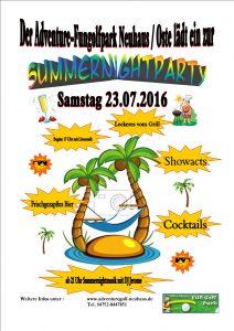 Summernightparty 2016